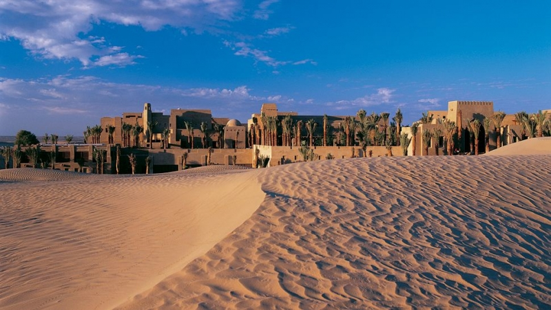 Bab Al Shams Exterior View