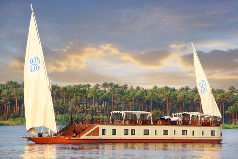 Dahabiya Nile Cruise, Egypt