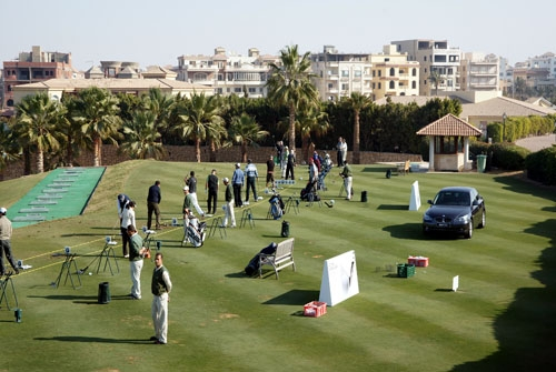 Katameya Heights Golf  court - Cairo