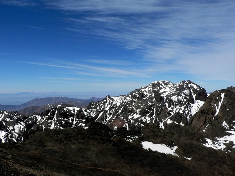 Vista Panoramica di Jbel Toubkal