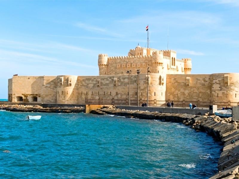 La forteresse de Qaitbaei, Alexandrie