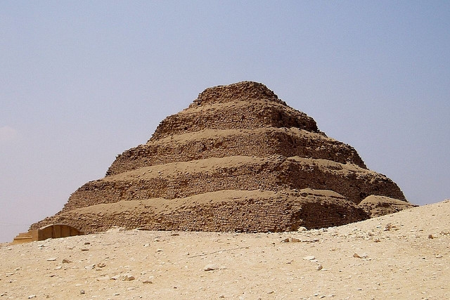 Djoser Step Pyramid at Saqqara Area