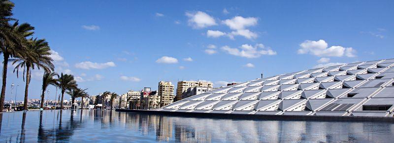 La Biblioteca de Alejandría, Egipto