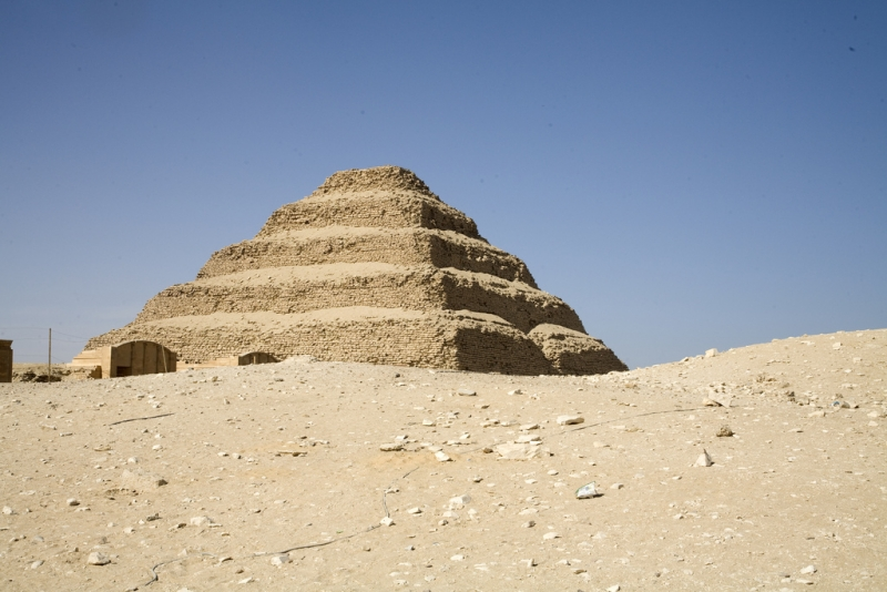 Step Pyramid of Djoser, Sakkara