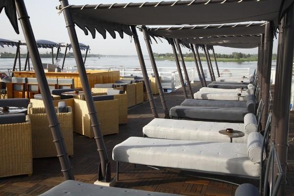 Mövenpick Darakum Nile Cruise Sundeck