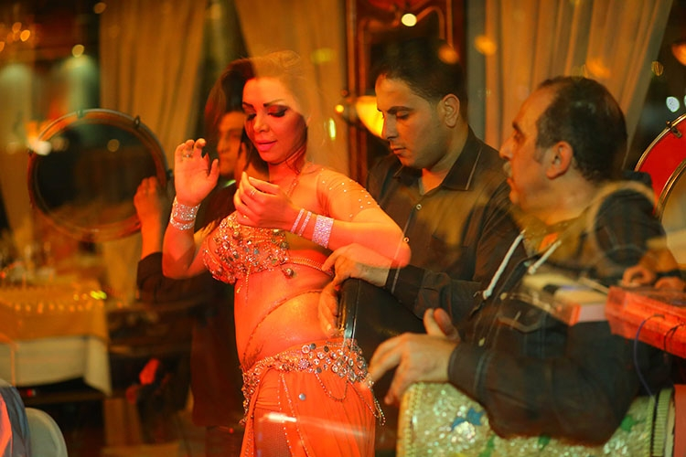 Belly Dancing Show at the Nile Maxim