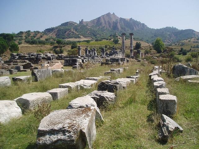 Ruinas en Efeso