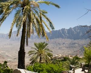 Wakan Village in Oman