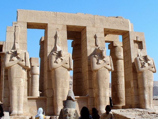 Colossal Statues, The Ramesseum