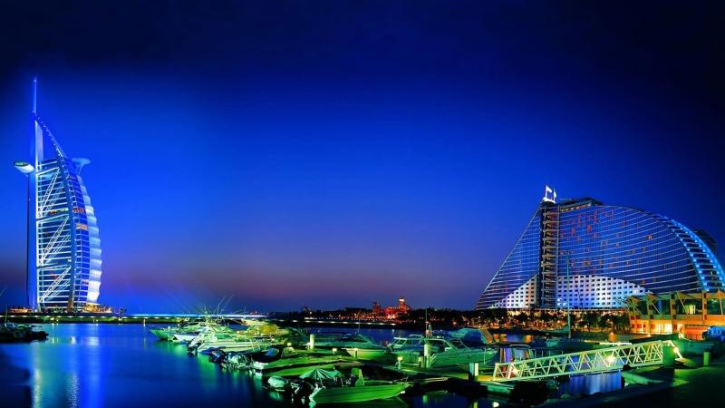 Marvelous Dubai at Night