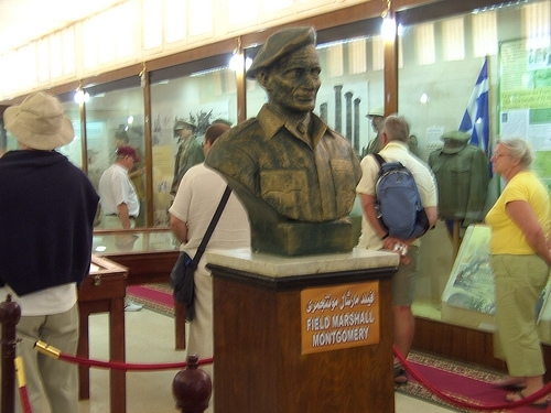 Statue for a Marshal at Al Alamein Museum