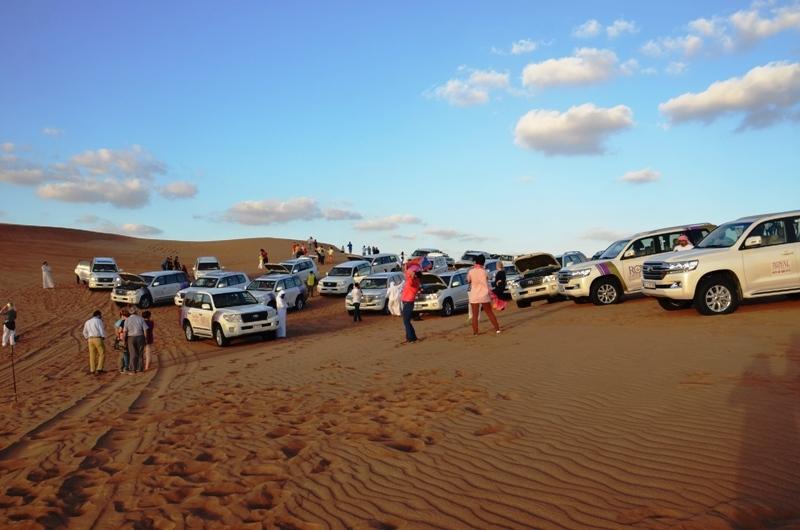 Safari no Deserto, Duabi.