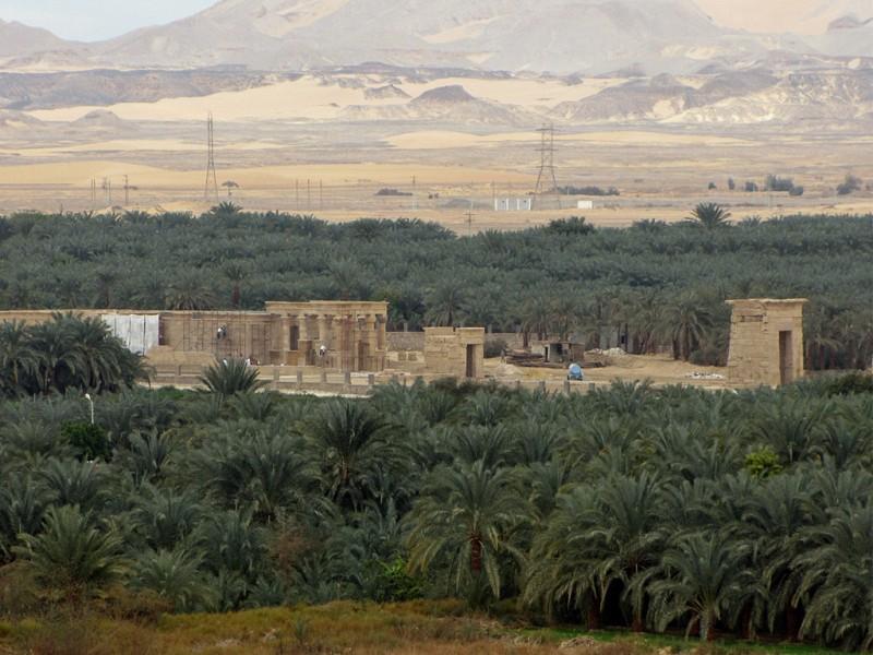 El Kharga Oasis in the Western Desert