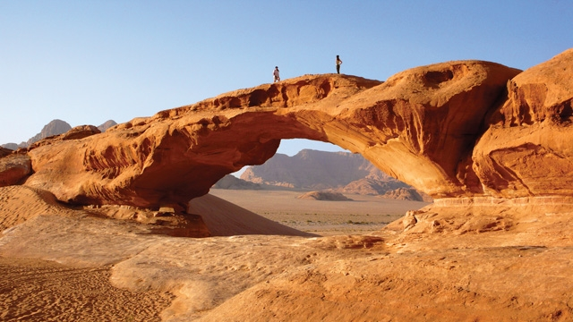 Wadi Rum Rock Formations
