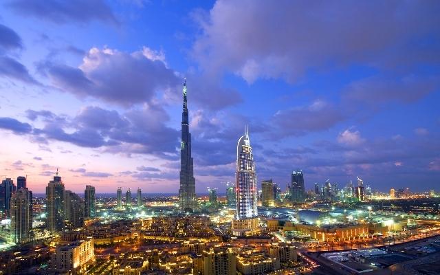 Dubai Stadtrundfahrt mit Burj Khalifa ab dem Dubai Hafen