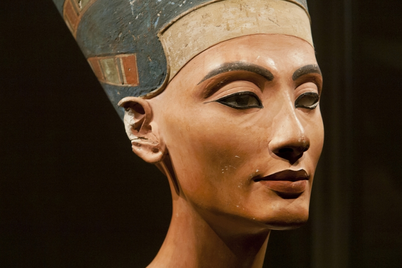 Head of Queen Nefertiti, Berlin Museum