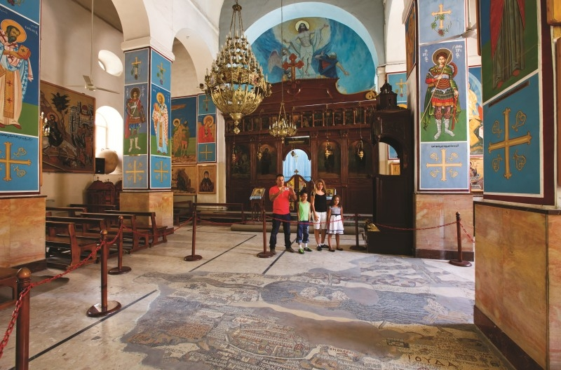 Church of St. George in Madaba
