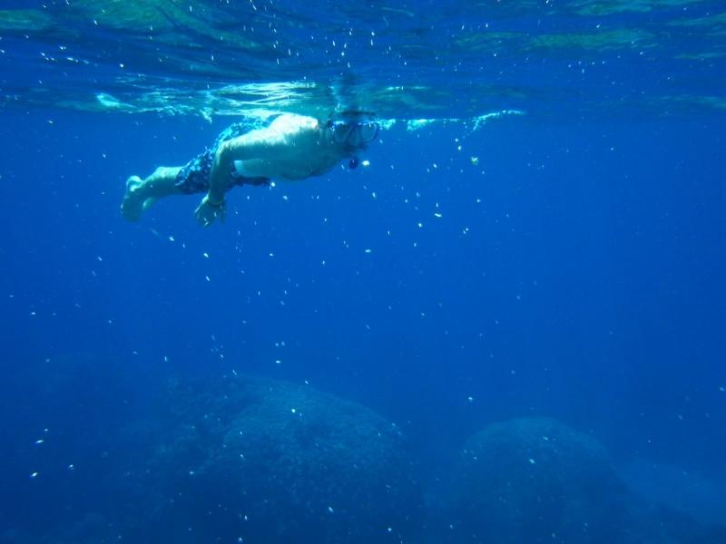 Snorkeling à Lagune Bleue