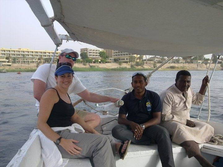 Felucca Ride on the Nile of Aswan