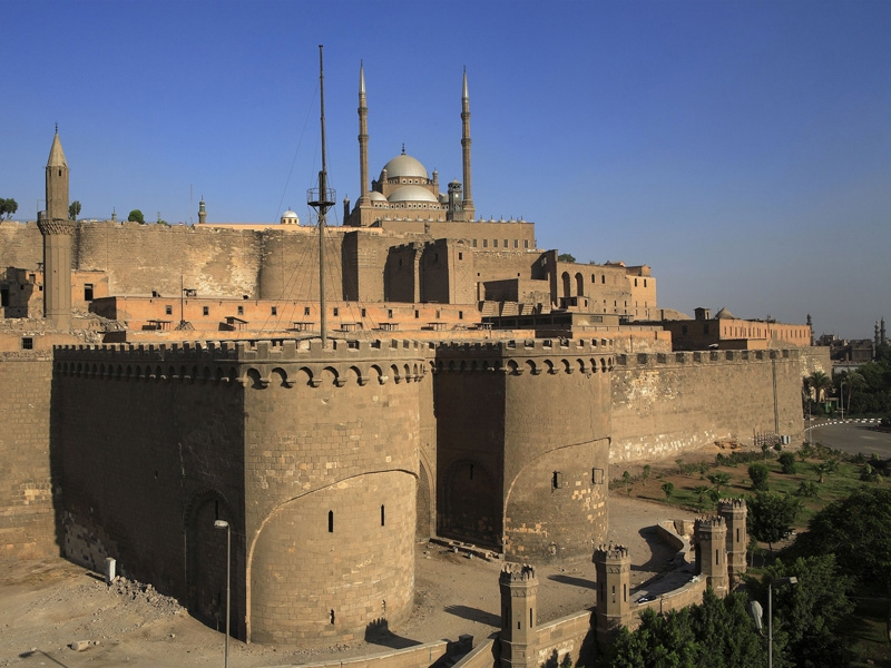 Saladin Citadel in Old Cairo