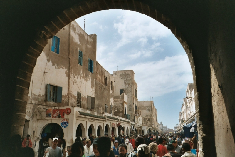 Vila de Essaouira Marrocos