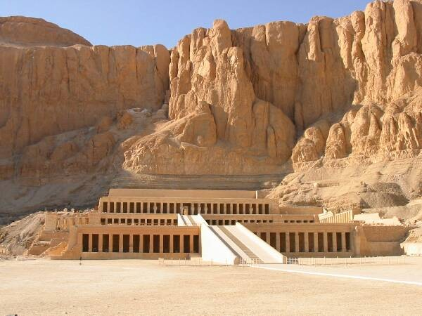 El Templo de Hatchepsut , Luxor