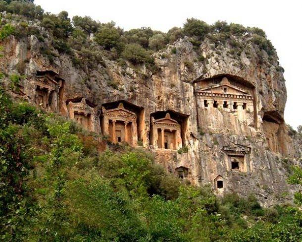 The Rock Tombs. Kaunos