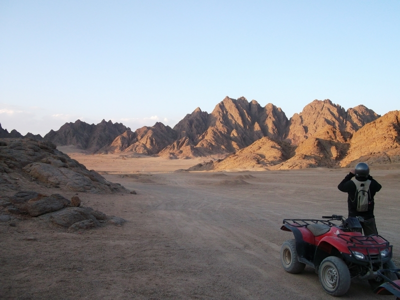 Sharm Quad Biking Adventure