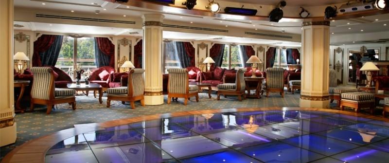 索内斯特圣乔治尼罗河邮轮,休息室