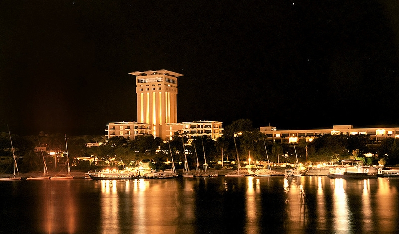Aswan City by Night