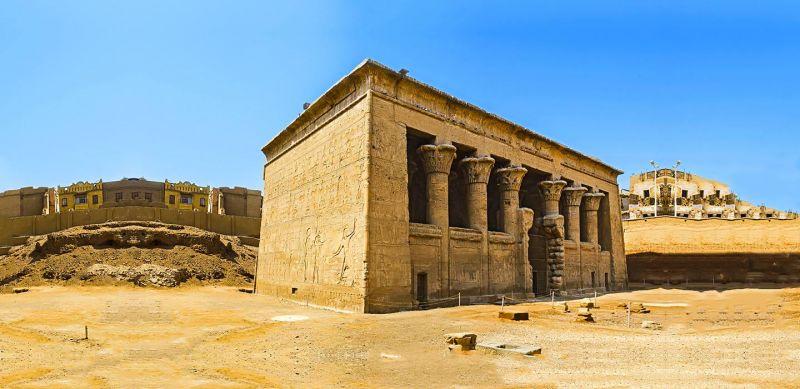 Città di Esna a Luxor