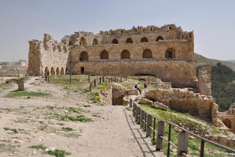 Castello dei Crociati a Kerak