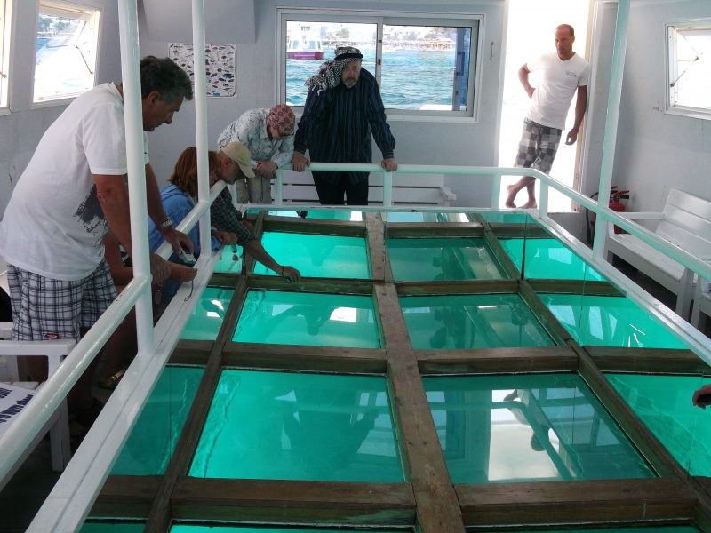 Sharm El Sheikh Glass Boat Adventure