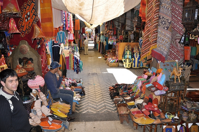 The Center Market in Casablanca