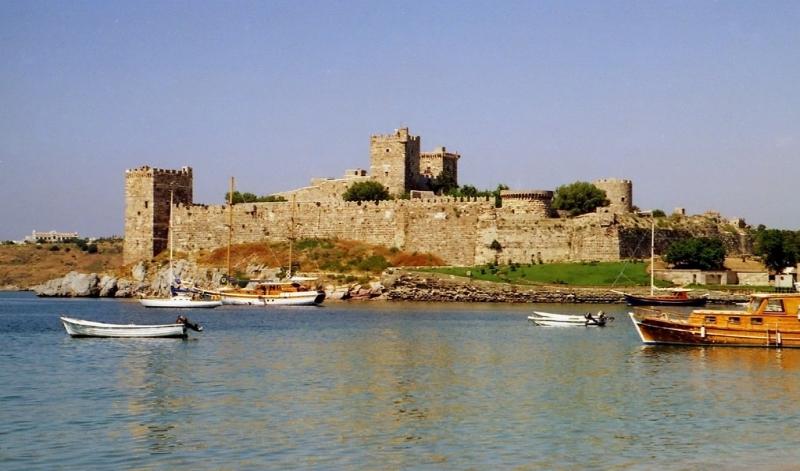 EEl castillo de San Pedro en Bodrum