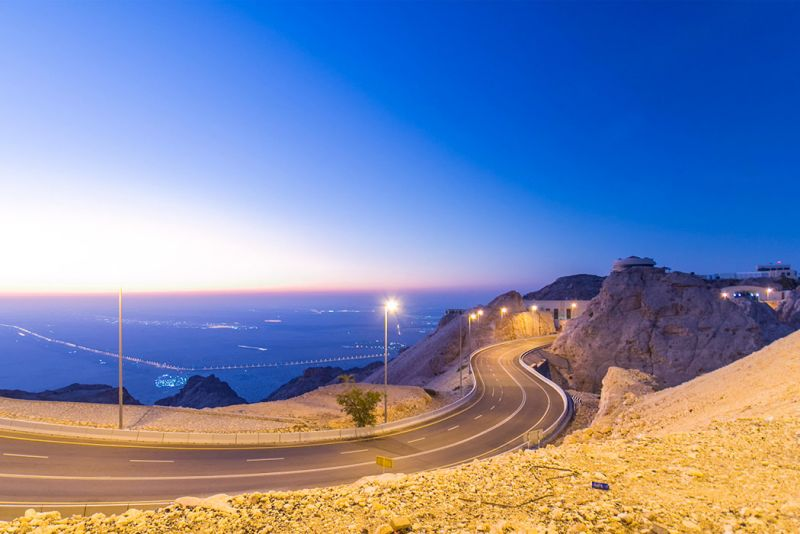 Monte Jebel Hafeet