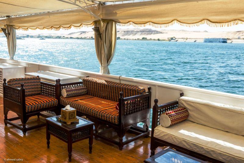MS Amoura Dahabiya Nile Cruise