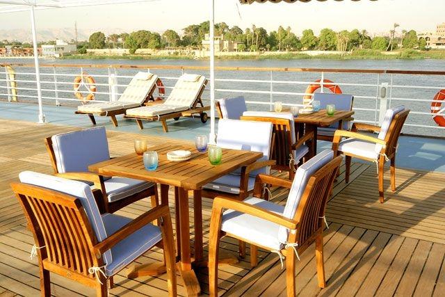 Trinkgeld auf einer Nilkreuzfahrt