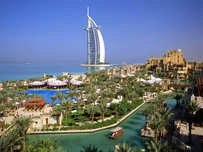 The amazing Burj Arab, Dubai