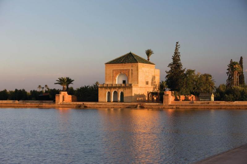 The Menara Garden in Marrakech