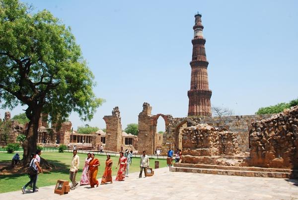 Qutab Minar, Nueva Delhi