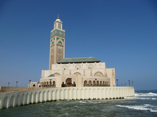 Hassan Mosque in Casablanca