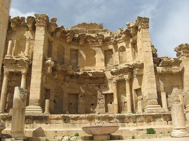 The Nymphaem in Jerash