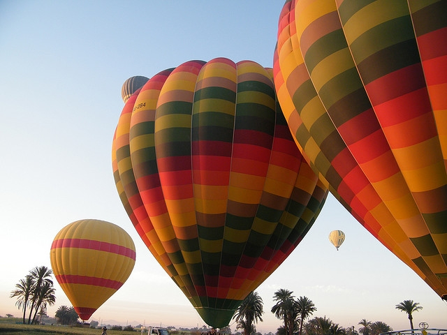 Hot Air Balloon Ride in Luxor Egypt