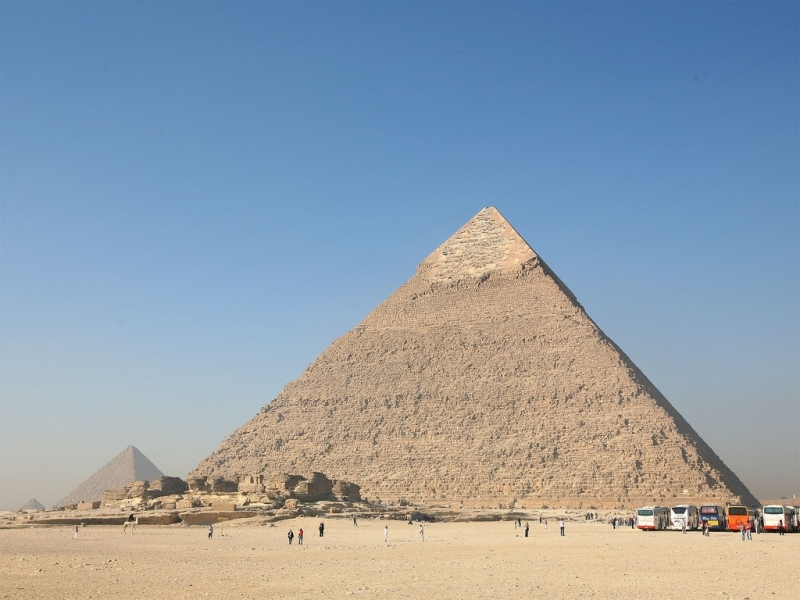 Chephren Pyramid (Khafre)