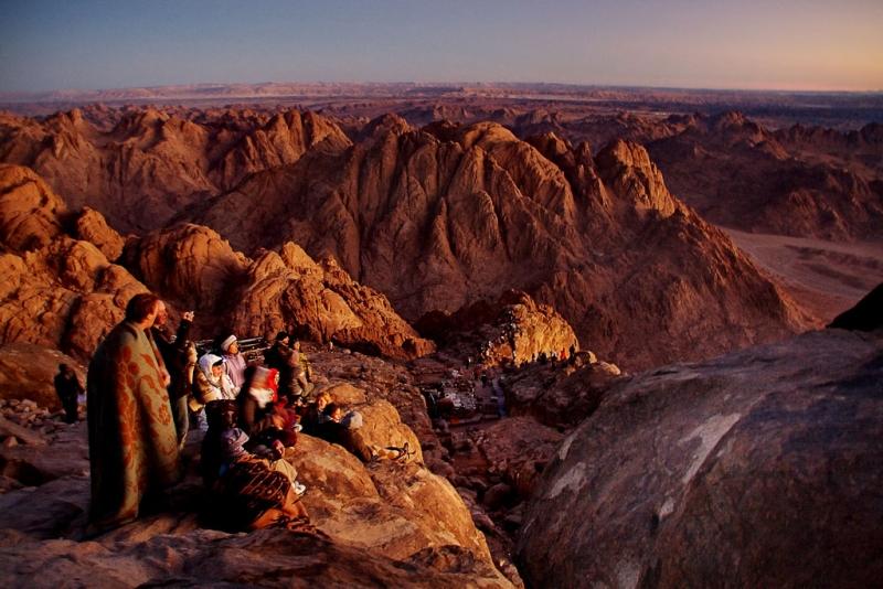 Subida Monte Sinai, Egito