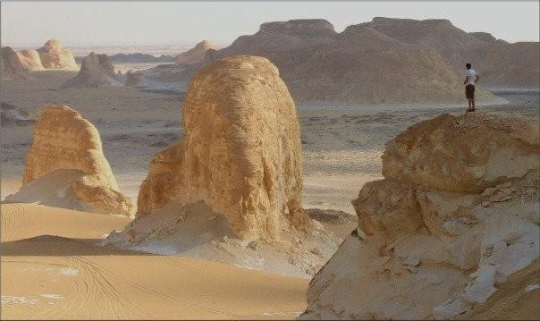 Valley of El Heiz Western Desert