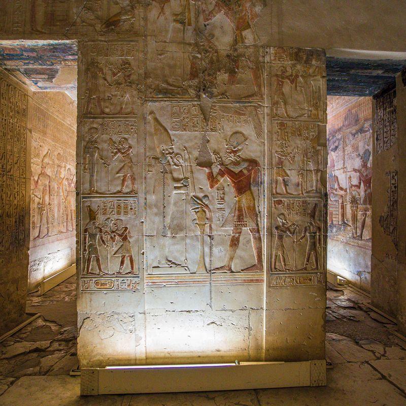O Grande Templo de Abydos