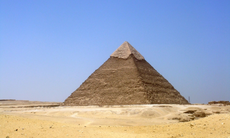 La Pirámide de Kefrén ( Jafra )