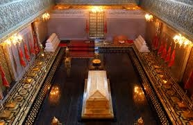 o mausoléu de Mohammed V